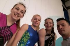 Andrej s puncami Teja Tjaša Ivi 1