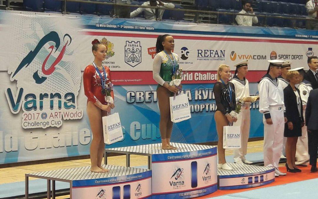 MEDALJA TEJE BELAK – World Challenge Cup Varna 2017