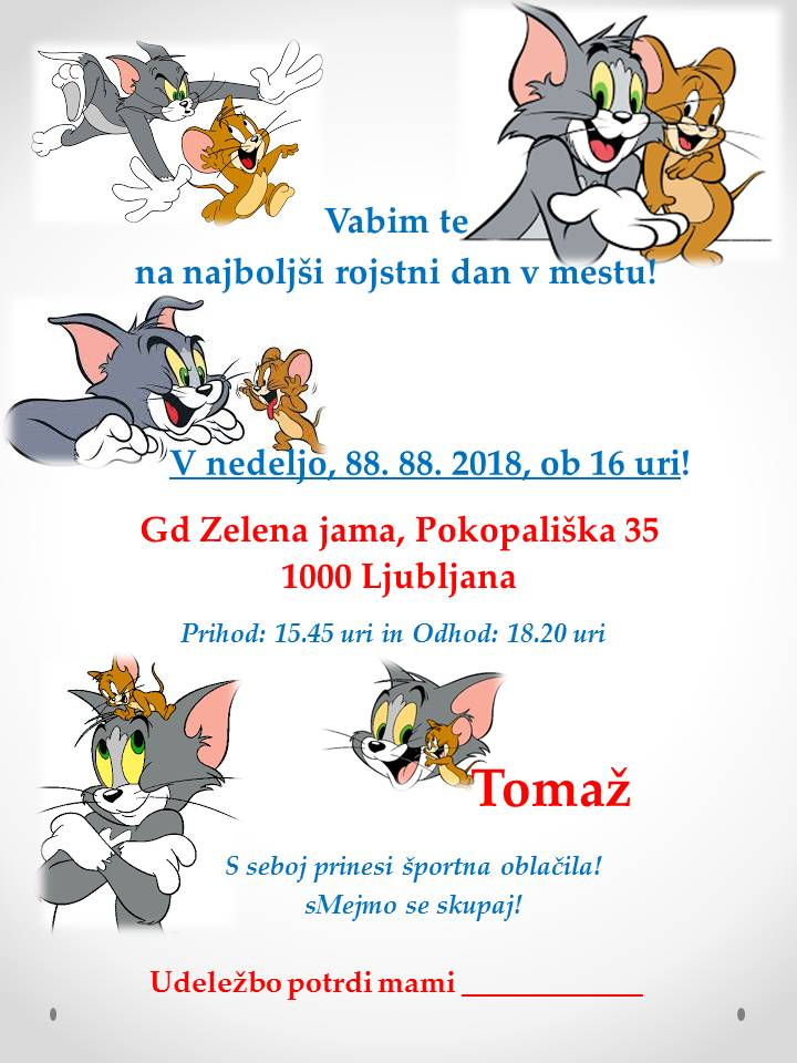 Tom in Jerry