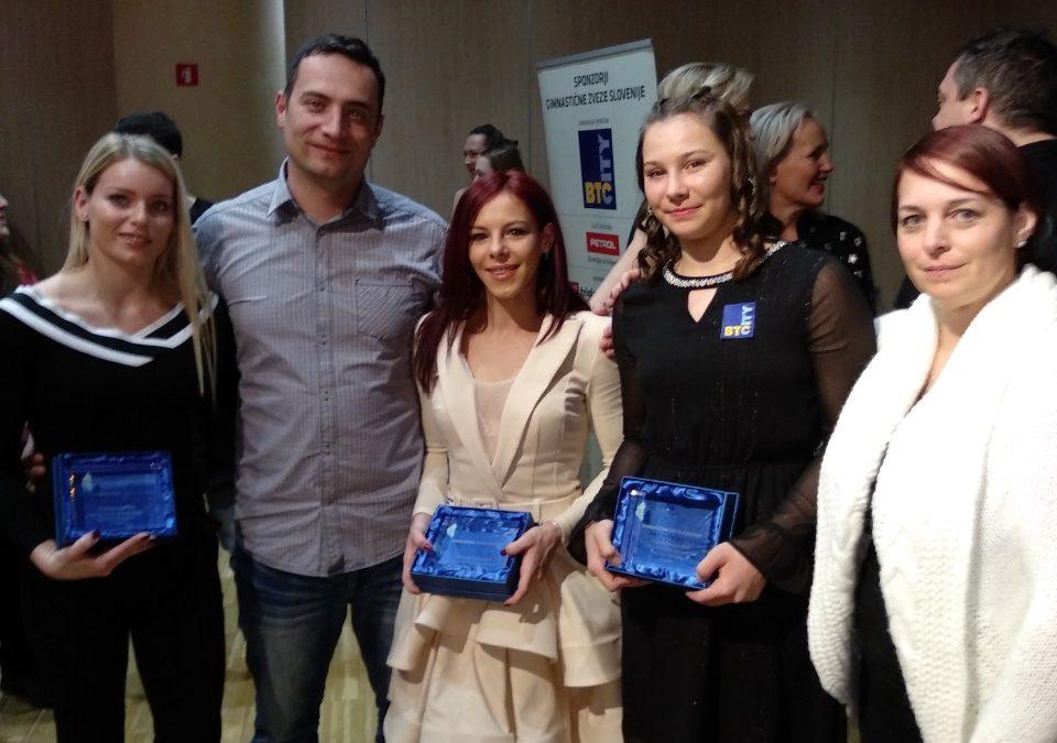 ŠPORTNIK LETA 2018 Gimnastične zveze Slovenije