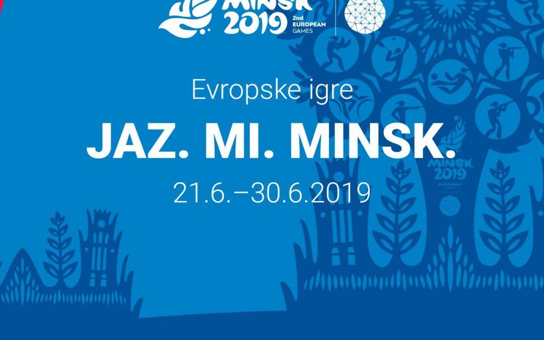 MINSK 2019 – 2. EVROPSKE IGRE